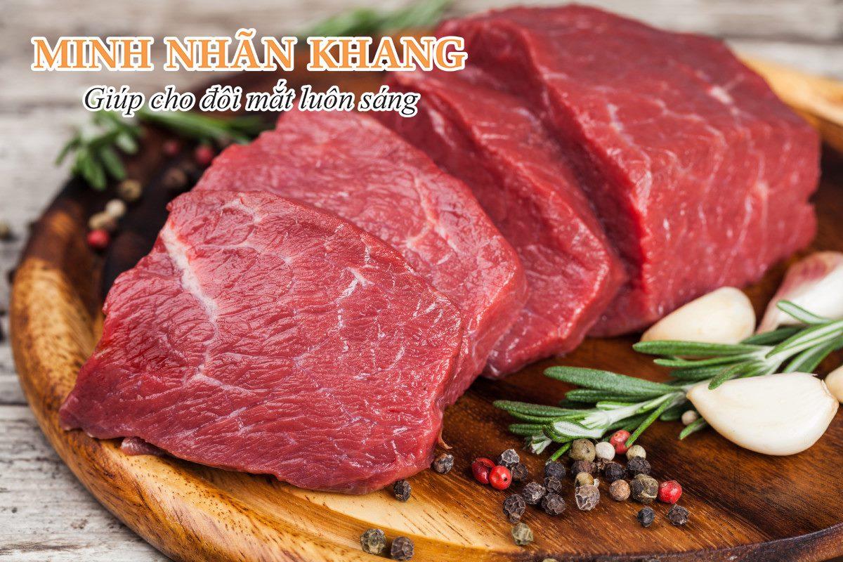 Thịt bò – nguồn bổ sung ALA từ động vật
